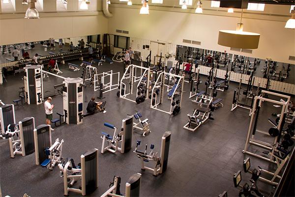 Помещение для фитнес-центра